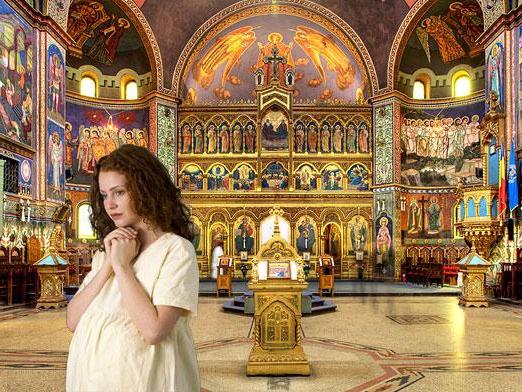 Можно ли беременным ходить в церковь, на кладбище, на похороны и почему нельзя?
