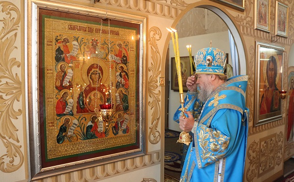 О чем молятся Курской иконе Божьей Матери Знамение: значение и молитва
