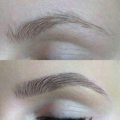 Шотирование бровей: как делать, фото до и после процедуры